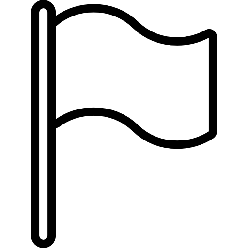 Black flags icon