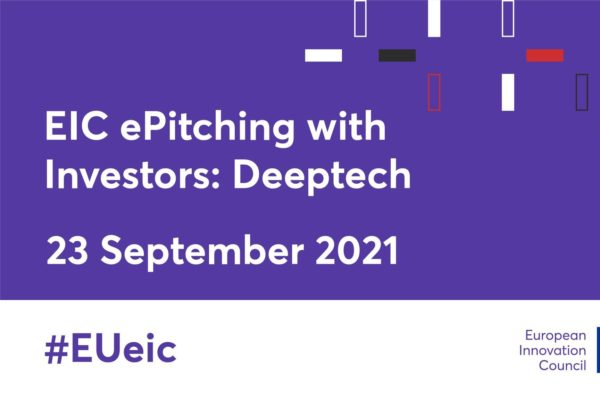 Enerpoly at EIC ePitching with Investors at top DeepTech funds